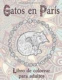 Gatos en París - Libro de colorear para adultos