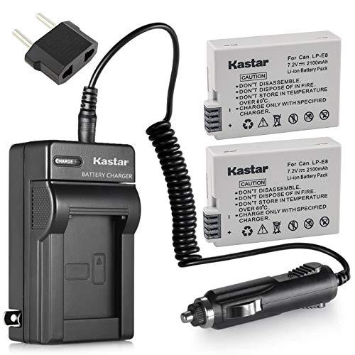 bateria canon t2i fabricante Kastar