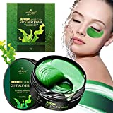 ARTISCARE Under Eye Patches,Under Eye Masks Collagen Gel Hydrating Eye Mask for Dark Circles Puffiness, Natural Seaweed Hydrating Undereye Gel Pads Anti Aging Eye Masks Cooling Eye Pads for Women and Men, 60PCs/30Pairs