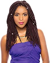 """Janet Collection Synthetic Hair Crochet Braids 2X Havana Mambo Faux Locs 14"""" (4-PACK, 4)"""