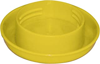 Harris Farms Screw-On Poultry Watering Base for Quart Jar, Yellow
