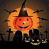 28 inch Halloween Lighted Pop Up Pumpkin Decorations