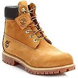 Timberland(ティンバーランド) 6インチ プレミアム ブーツ kids ウィート ヌバック 6.0/23.0cm 12909W