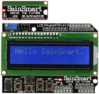 SainSmart LCD 1602 Keypad Shield for Arduino Due UNO R3 Mega2560 R3 Duemilanove