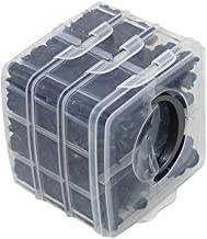 Sangmei 620 unidades Plásticos diversos para carroceria de carro Pino retentor de pressão Rebite Prendedores Clipe de mold...