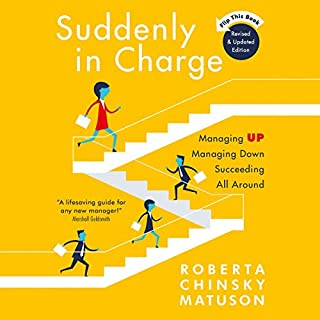 Suddenly in Charge 2E audiobook cover art