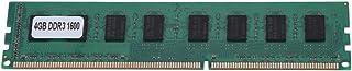 Socobeta Scheda Madre RAM Memoria 4G DDR3 4GB DDR3 1600MHz RAM Memoria RAM per PC 240pin