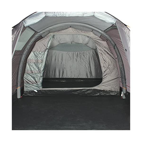 Portal Outdoor Alfa Inflatable Air Tent with Pump and Carry Case, Sleeps up to 5, Waterproof with Separate Bedroom and…