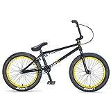 Mafiabikes Kush 2+ 20 inch BMX Bike Black Gold