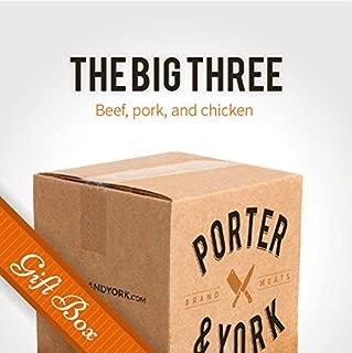 The Big Three Gift Box - Porter & York Brand Meats