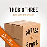 The Big Three Gift Box - Porter & York Brand Meats