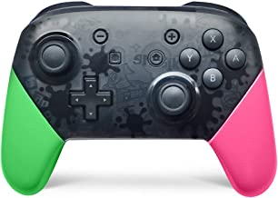 Switch pro Controller,Wireless Controller Compatible for Nintendo Switch Support Gyro Axis Dual Shock (Pink & Green)