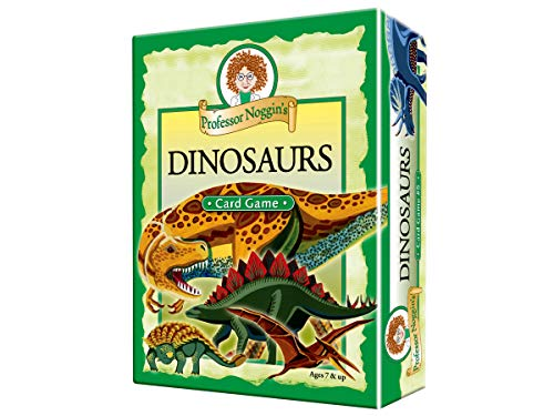 Professor Noggin's Dinosaurs - A Educational Trivia Based Card Game For Kids -...