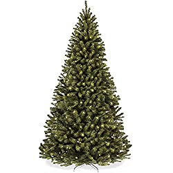 top 10 pre lit tree Best Choice Product A 6-foot hanging artificial Christmas tree made of UL250 certified pre-light spruce …