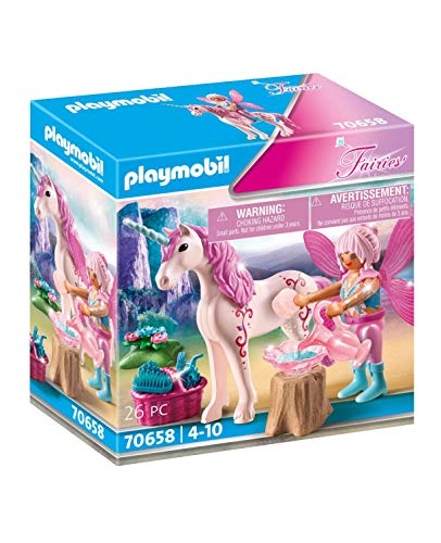 PLAYMOBIL Fairies 70658: Unicornio con Hada