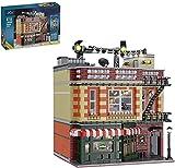 Friends Friends Apartment Building Blocks, 4638 Piezas Amigos Central Perk Modular Street View Series Set de construcción, Compatible con Lego
