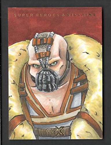 2019 CZX Super Heroes and Super-Villains Sketch Card Melanie Solares 1/1