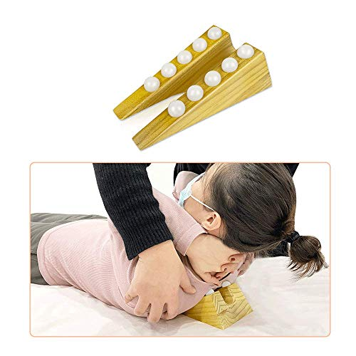 Bed Wedge Chiropractic Neck Wedge Triangle Pillow...