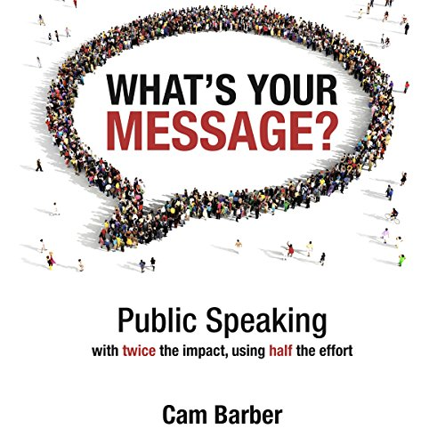 What's Your Message? audiobook cover art