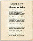 Robert Frost - The Road Not Taken - 11x14...