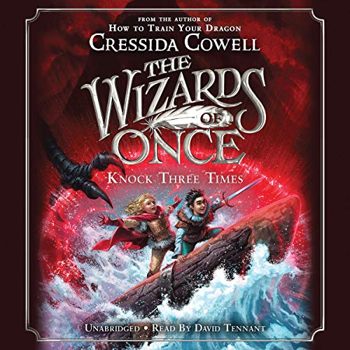 The Wizards of Once: Knock Three Times audiobook cover art