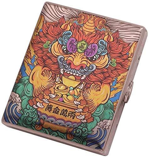 TIANYOU Caja de Cigarrillos Caja de Cigarrillo Multicolor...