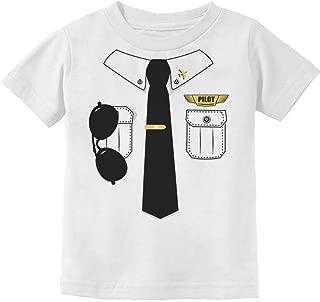 TStars - Pilot Halloween Costume Outfit Suit Toddler/Infant Kids T-Shirt