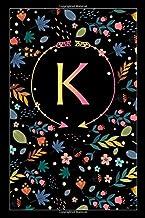 """Κ: κ Kappa, Initial Monogram Greek Alphabet Letter Κ Kappa, Cute Cover, Lined Notebook/Journal Gift Idea, 100 Pages, 6""""x9""""..."""