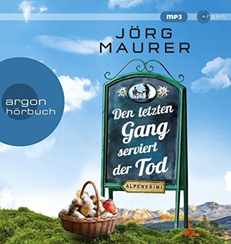 Buchseite und Rezensionen zu 'Den letzten Gang serviert der Tod' von Jörg Maurer