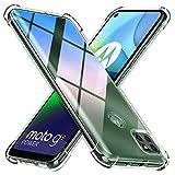 Peakally Funda Motorola Moto G9 Power Carcasa,Motorola Moto G9 Power Funda Silicona TPU Suave Ultrafino Smartphone Case [Anti-Caida y Resistente a arañazos] - Transparente