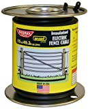 Baygard 693 12G 49.2 ft. Underground Insulated Electric Fence Cable, Black