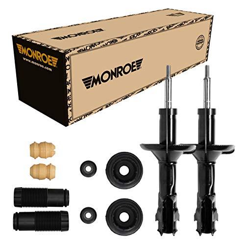 Monroe Stoßdämpfer Vorne + Domlager Staubschutz für VW Golf 3 1E7 1H1 Golf 4 1E7