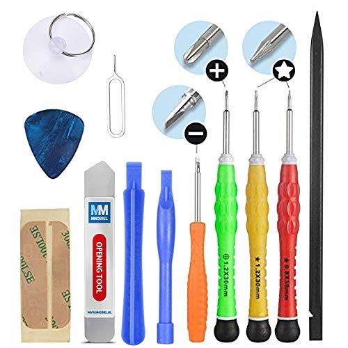MMOBIEL Kit Complet d'outils avec 13 pièces Compatible avec Réparation de Smartphones/Tablettes