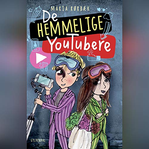 De Hemmelige Youtubere audiobook cover art