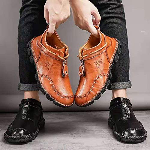 Ankle Shoes for Men Genuine Leather
