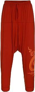 Yeefant メンズ サルエルパンツ パンツ アラジンパンツ タイパンツ エスニック ロングパンツ M L XL XXL XXXL