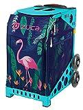 ZUCA Sport Bag - Flamingo (Turquoise Frame)