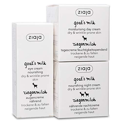 Goat's Milk Bundle: Day, Night & Eye Cream