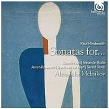 Hindemith: Sonatas for piano and... by Isabelle Faust, Alexander Rudin, Jeroen Berwaerts, Teunis van der Zwart, Gerard (2015-01-13)