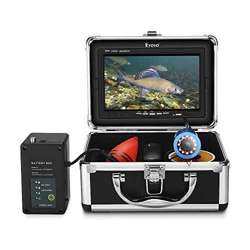 Eyoyo Underwater Fishing Camera Video Fish Finder 7 Inch LCD...
