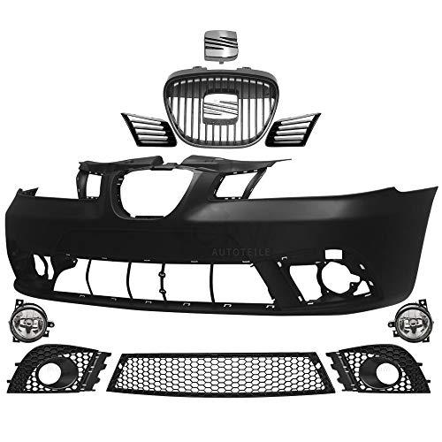 Set Stoßstange vorne +Nebel+Zubehör für Ibiza Cordoba 6L 02-08 kein PDC SRA