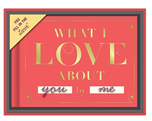 Knock Knock What I Love About You Fill in the Love Journal with Gift Box