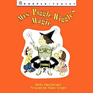 Mrs. Piggle-Wiggle's Magic audiobook cover art