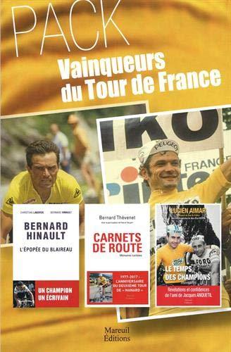 Pack Vainqueurs du tour de France (3 volumes)