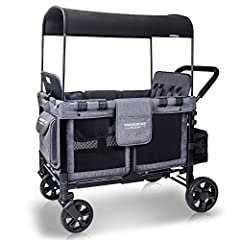 GREAT FOR OUTDOORS – Baby bags. Booster seats. Strollers. Sometimes, taking our little ones on the go with us is nearly impossible! Luckily, our heavy-duty WonderFold Multi-Function Four Passenger Wagon is travel-friendly and carries up to 300 pounds...