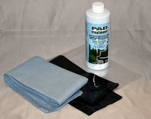Dampp-chaser Piano Humidifier Treatment 16 oz Bottle with 4 Pads, Liner, and Clean Sleeve