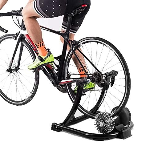 YQTXDS Soporte de Entrenador de Bicicleta Plegable Fluido, Entrenador de Bicicleta Turbo, Soporte de Ejercicio de Ciclismo Interior de Resistencia (Entrenador de Bicicleta)