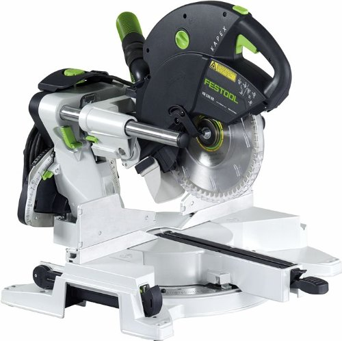 Festool Sliding Compound Miter Saw for Trim Work