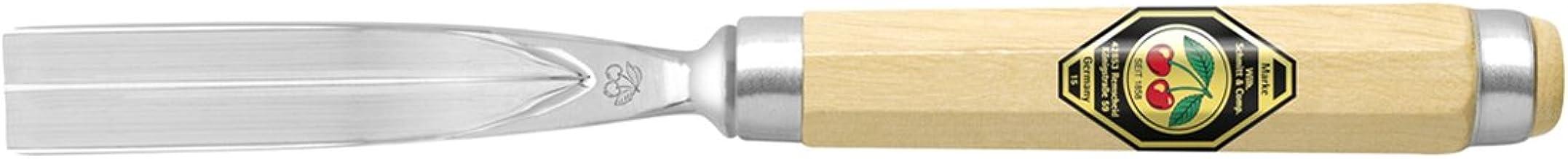 Gubia Kirschen color blanco punta 3, curvo, 3 mm
