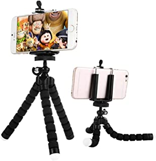 Urban Utility Mini Flexible Sponge Octopus Tripod for iPhone Samsung Xiaomi Huawei Mobile Phone Smartphone Tripod for Came...